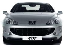 Découvrez le design extérieur novateur de la Peugeot 407 Coupé, qui emprunte fortement à l'univers Ferrari (cf les petites ouies d'aération sur le bouclier avant).