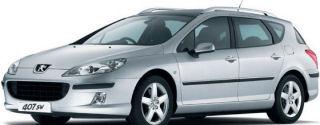 Lien vers le design extérieur de la Peugeot 407 SW